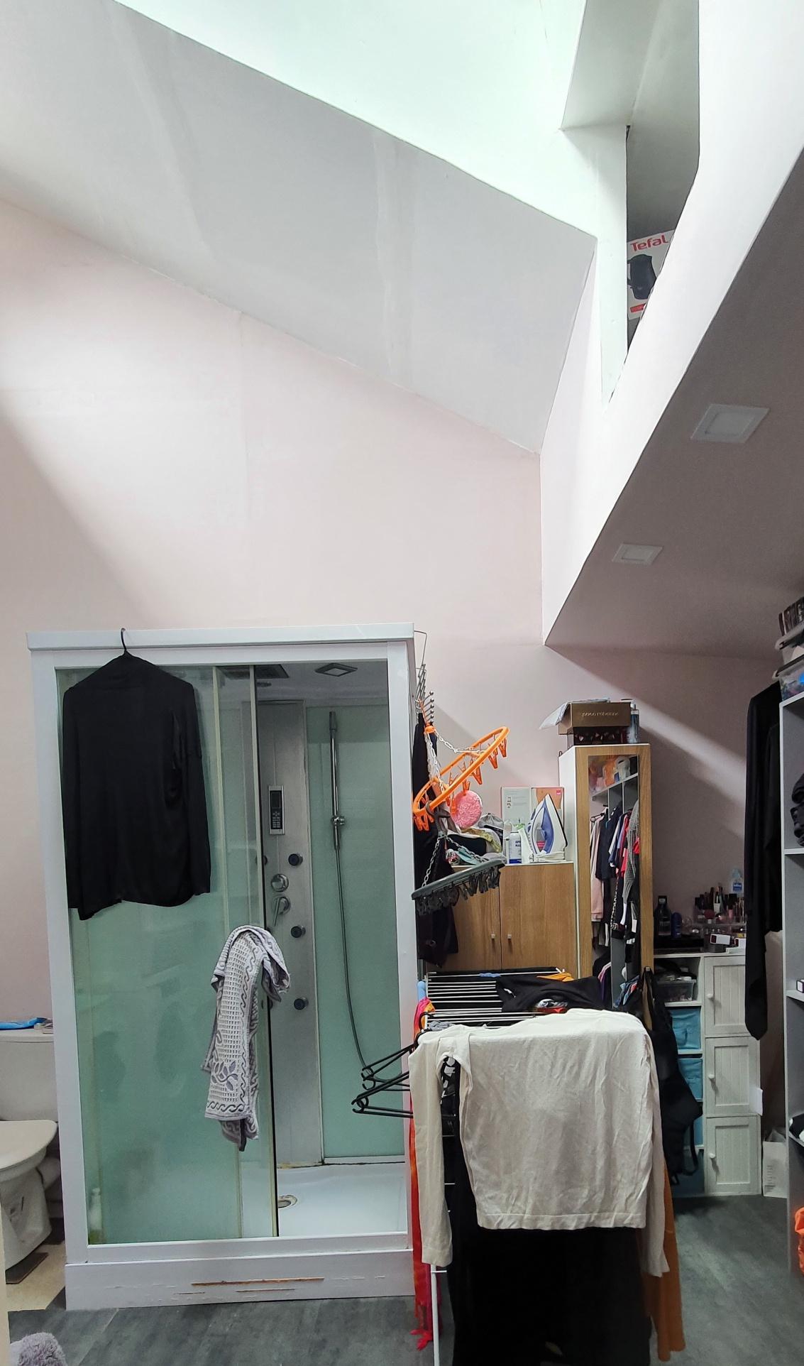 salle d'eau avec wc et dressing